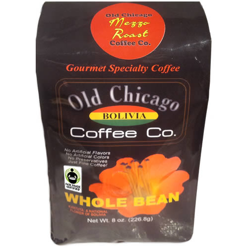 Fair Trade Certified Bolivian Medium Roast Beans